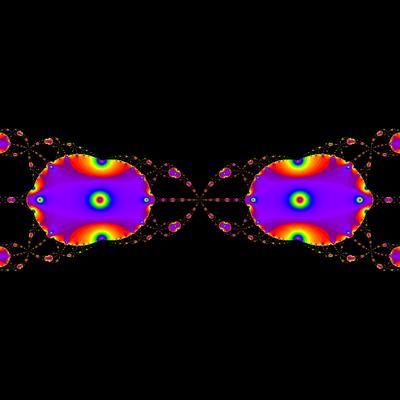 Konvergenzgeschwindigkeit z^2-1=0, Householder-Verfahren modifiziert mit a=1.9