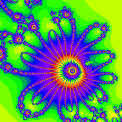 Konvergenzgeschwindigkeit z^3-z=0, Kung-Traub-Verfahren, Zoom