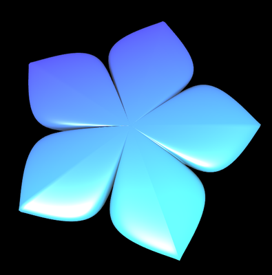 Supershape: Blume 2