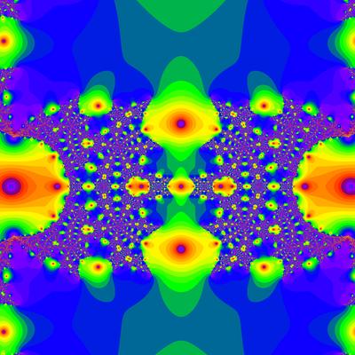 Konvergenzgeschwindigkeit z^3-z=0, Householder-Verfahren, a=1.8, Zoom