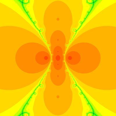Konvergenzgeschwindigkeit z^3-z=0, Halley-Verfahren