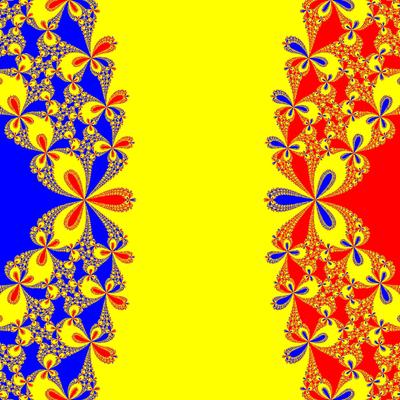 Basins of Attraction z^3-z=0, Whittaker I-Verfahren