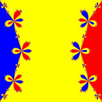 Basins of Attraction z^3-z=0, Householder-Verfahren