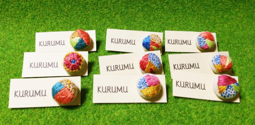 2014 KURUMIピンバッジ