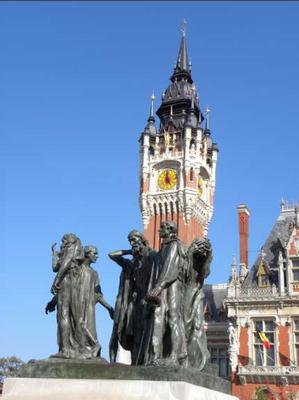 statue des  bourgeois de Calais