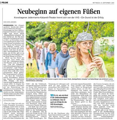 KN vom 15.09.2021 (Sven Janssen)