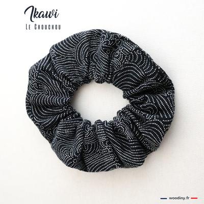 Chouchou tissu japonais