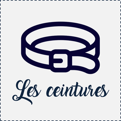 """Ceinture """"made in France"""""""