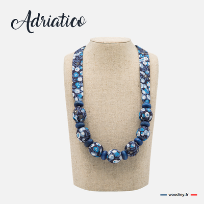 Collier bleu liberty