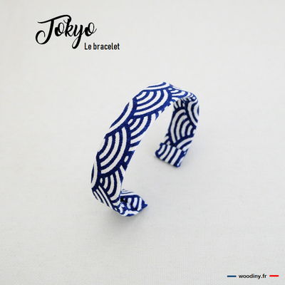 Bracelet motif vagues