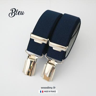 Bretelles bleues