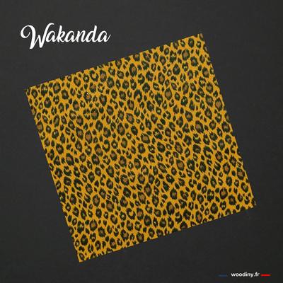 Pochette de costume léopard