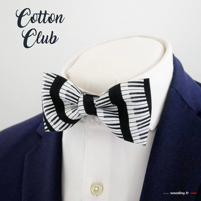 Noeud papillon piano Cotton Club