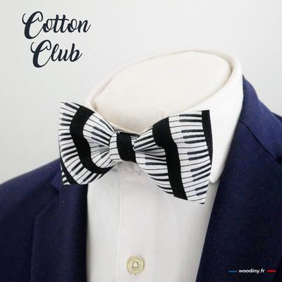 Noeud papillon piano Cotton Club