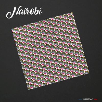 Pochette de costume wax rose