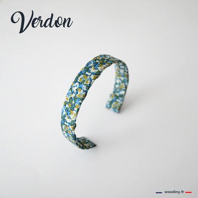 Bracelet liberty vert et bleu