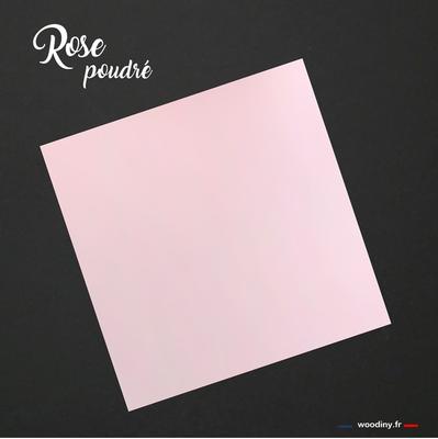 Pochette de costume rose poudré