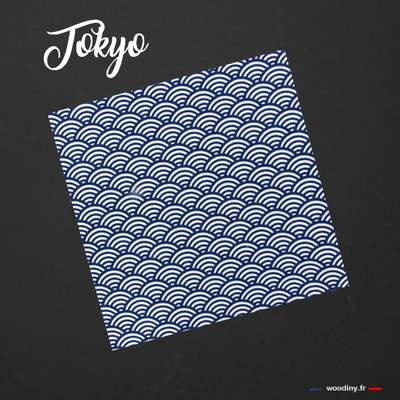 Pochette de costume japonais