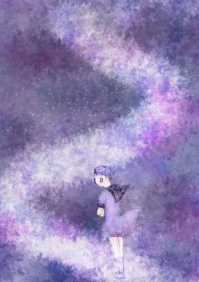 五月ツツジ_銀色の道