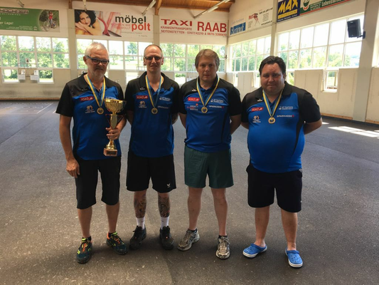 v.l.n.r.: Karl Baumgartner, Michael Schrenk, Claus Kerschner, Harald Köninger