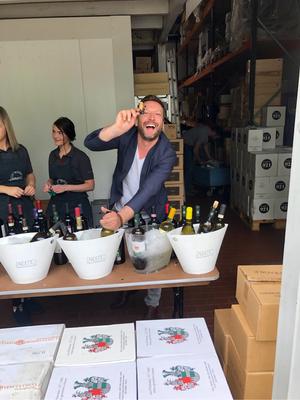 Carmine der immer fröhliche Weinfachmann