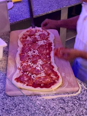 1 Meter Pizza