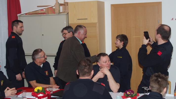 Oliver Poitschek: Angelobung zur Feuerwehrjugend