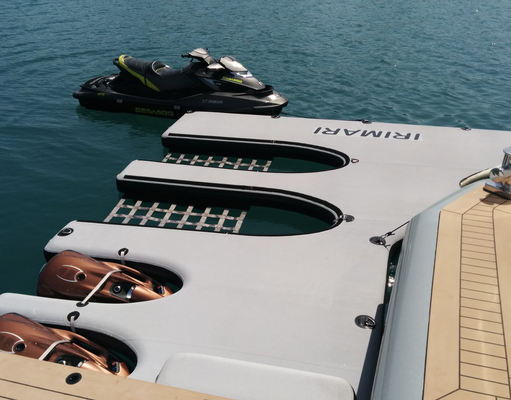 Superyacht Custom jetski & seabob dock www.marinestore.eu