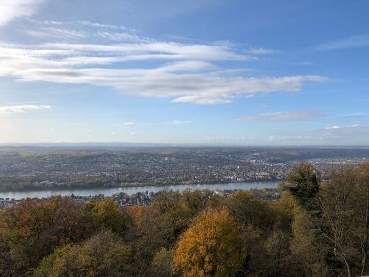 Blick vom Petersberg Richtung Bonn