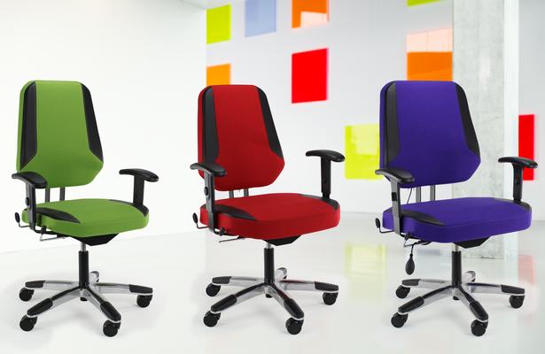 Bürodrehstuhlauswahl mit hohem Sitzkomfort