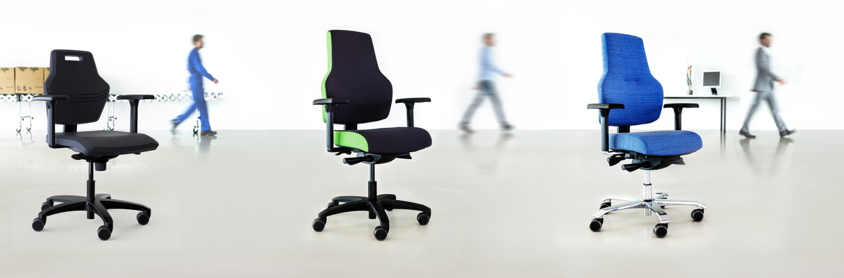 Bürodrehstuhl mit hohem Sitzkomfort