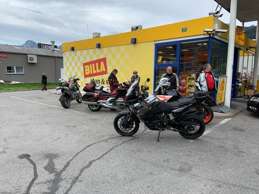The Borderlords - Motorrad Treffen in Vorau, war echt a