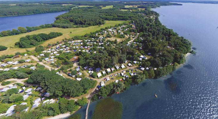 Naturcamping ZWEI SEEN zwischen Plauer See & Großem Pätschsee gelegen