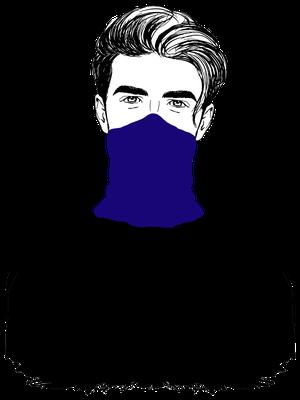 ways-to-wear-a-loop-scarf-man-mask