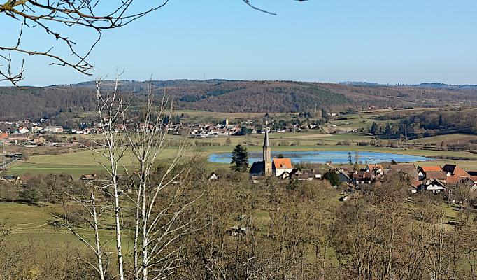 Blick auf Effolderbach und Selters