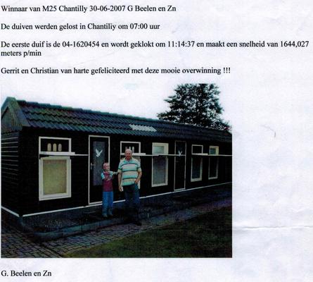 Artikel P.V. de Eéndracht 2007