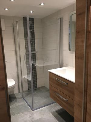 neue Badezimmer