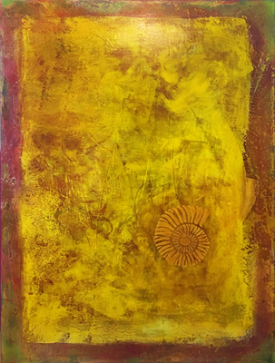 Nautilus   ...   Acryl auf Leinwand   ...   80 x 100 cm