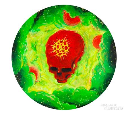 skull planet