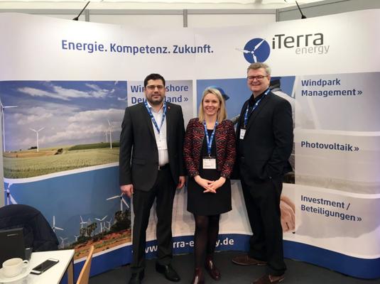 iTerra energy auf der Husum Wind 2017