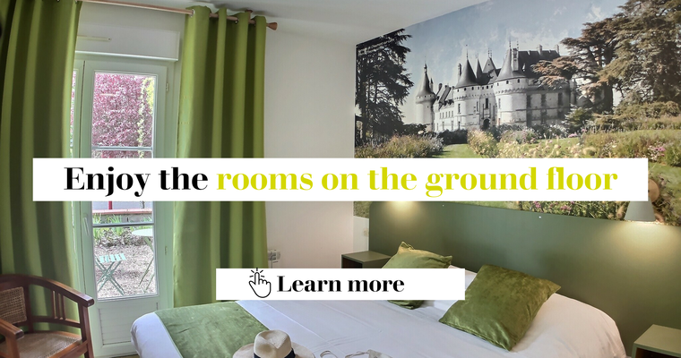 Discover our ground floor rooms