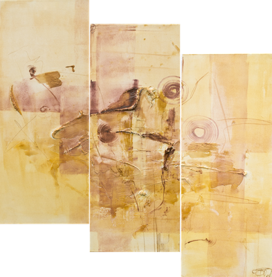 Trilogie Rosenstolz I 30 x 80 cm I 30 x 80 cm I 30 x 80 cm