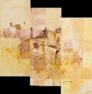 Trilogie Rosalie I 30 x 80 cm I 30 x 80 cm I 30 x 80 cm