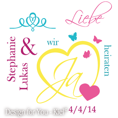 Stephanie & Lukas © Design for You -Kiel