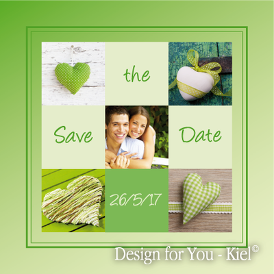 Save the Date © Design for You -Kiel