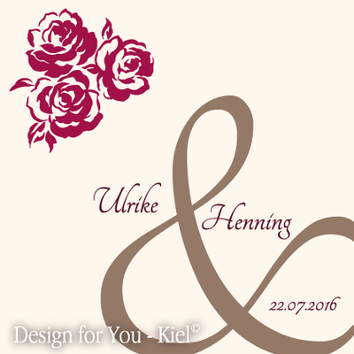 Ulrike & Henning © Design for You -Kiel