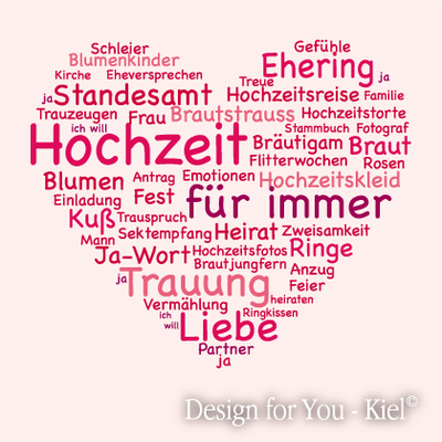 Wortherz © Design for You -Kiel