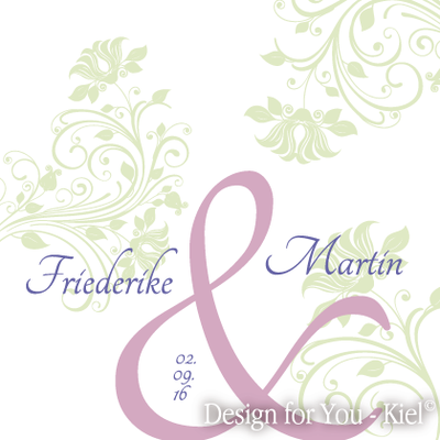 Friederike & Martin © Design for You -Kiel