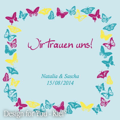 Natalia & Sven © Design for You -Kiel