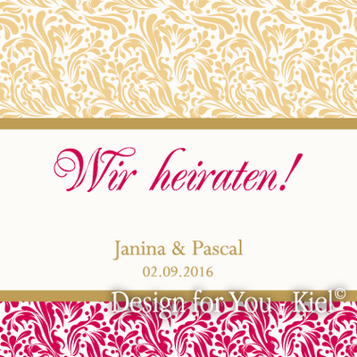 Janina & Pascal © Design for You -Kiel